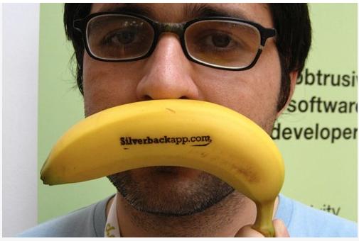 Визитка-банан