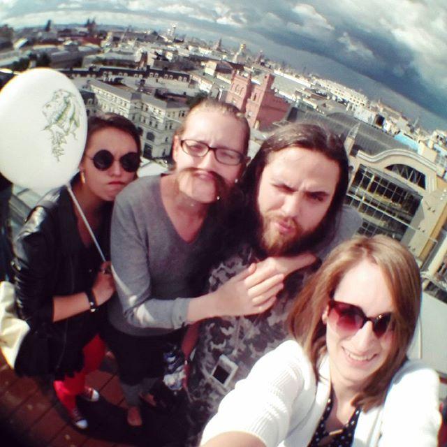 Мы с друзьями в Москве