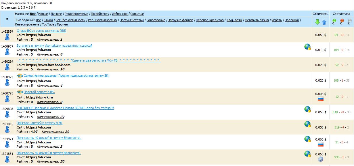 Заработок ВКонтакте для школьников