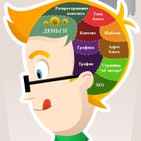 Инфографика: проблемы начинающего блоггера