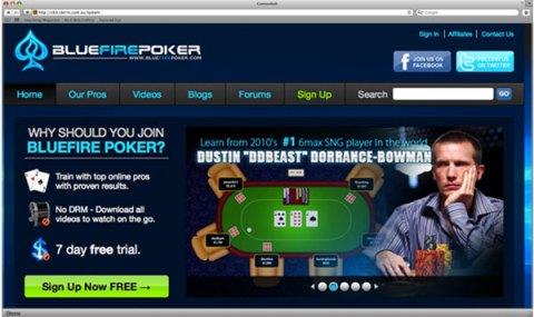 Сайт для тренировок по покеру