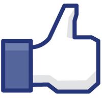 """Кнопка социальной сети Facebook - """"like"""""""