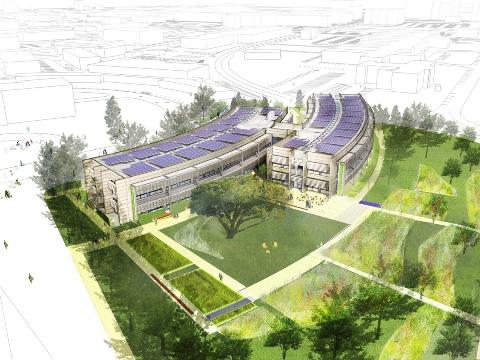 5 самых экологичных офисных зданий будущего