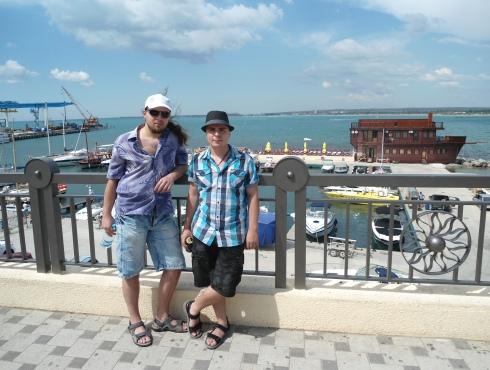 SEO-аспирант на отдыхе в Анапе