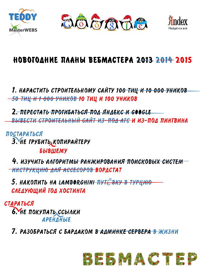 Конкурс новогодних интернет-картинок 2015