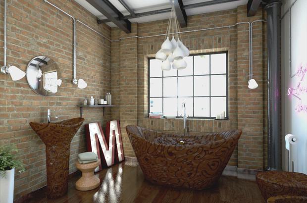 Шоколадная ванная