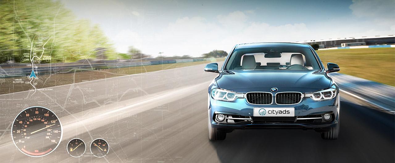 CityAds разыгрывает среди вебмастеров в этом году автомобиль BMW 320 и кучу подарков