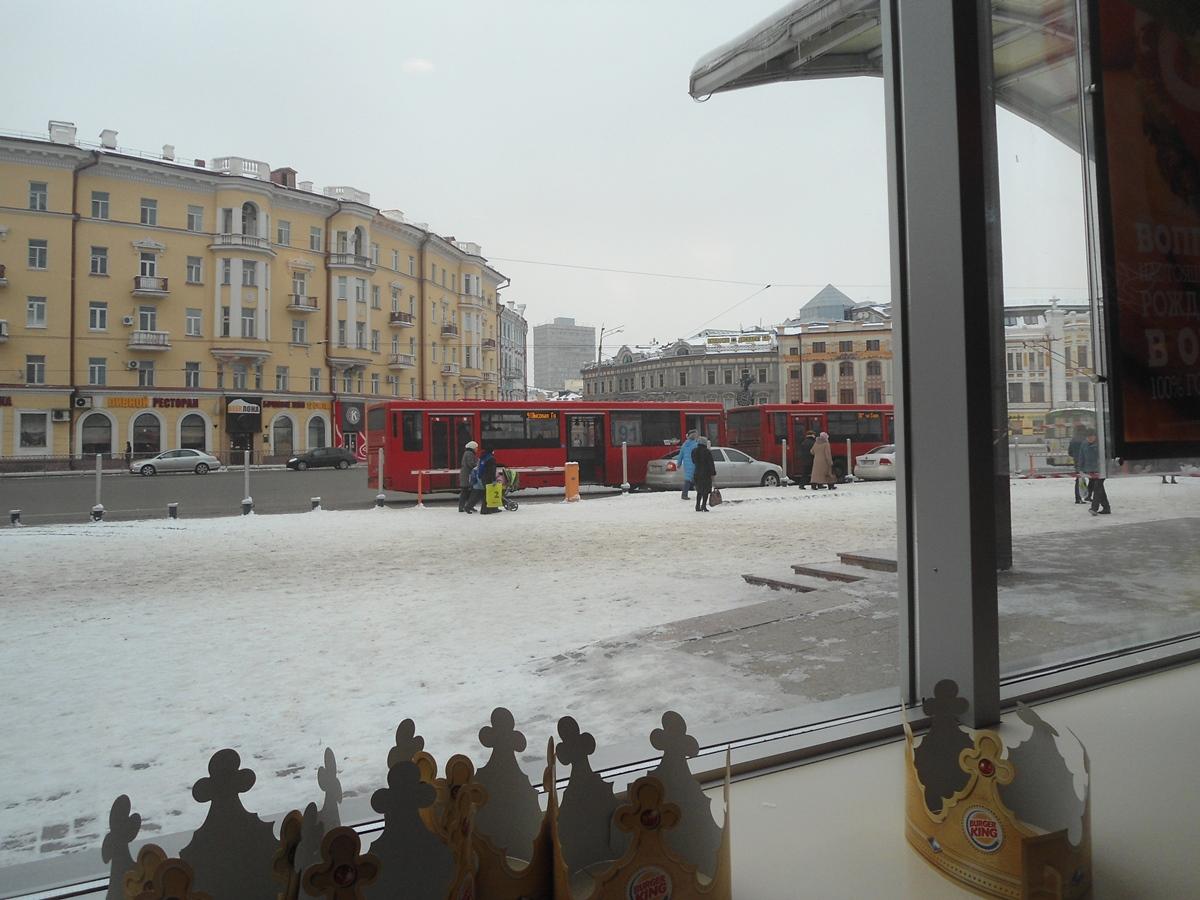 Красные автобусы