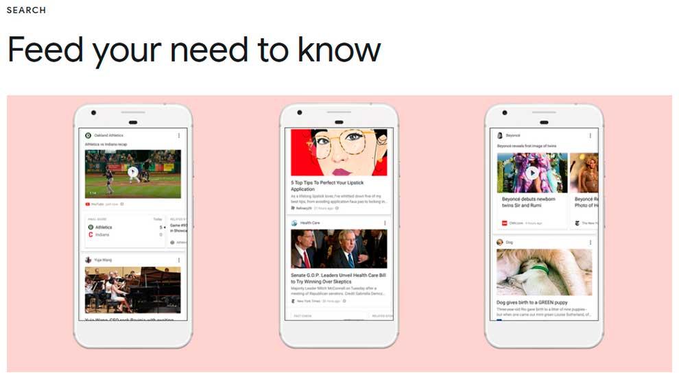 Рекомендации Гугл