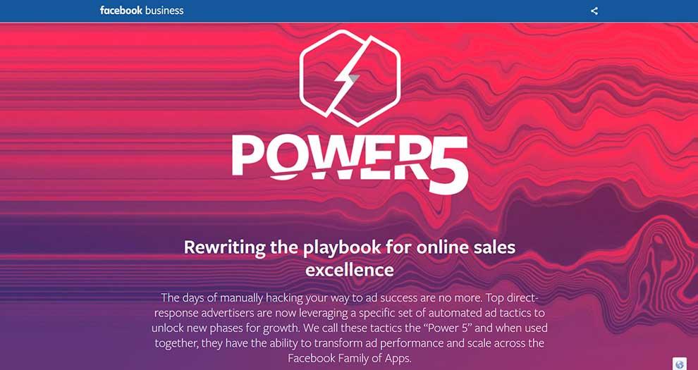 Facebook Power 5