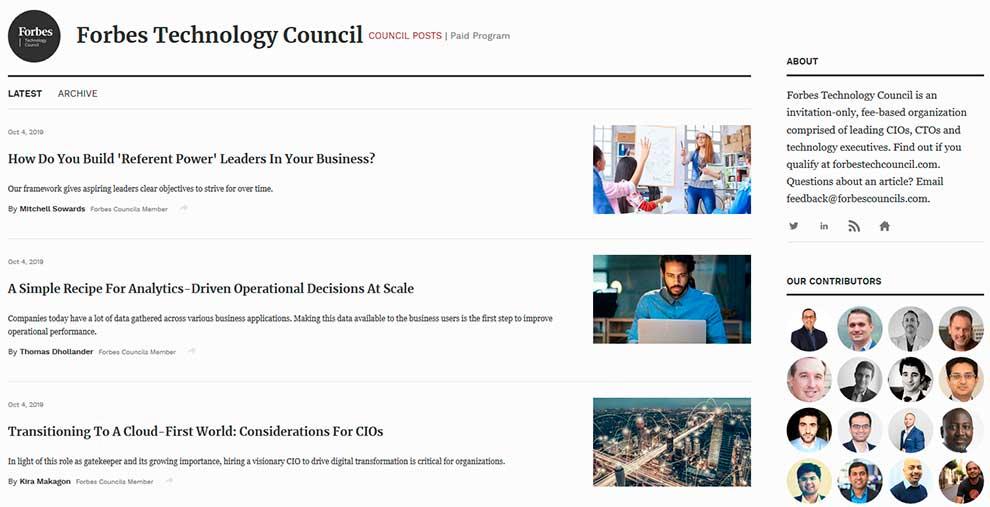 Технологический совет Forbes
