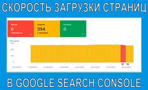 Google наконец-то запустил долгожданный отчёт о скорости загрузки страниц в Search Console