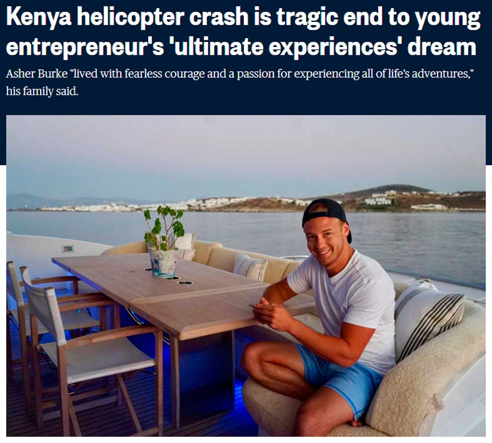 Трагическая авария в Кении