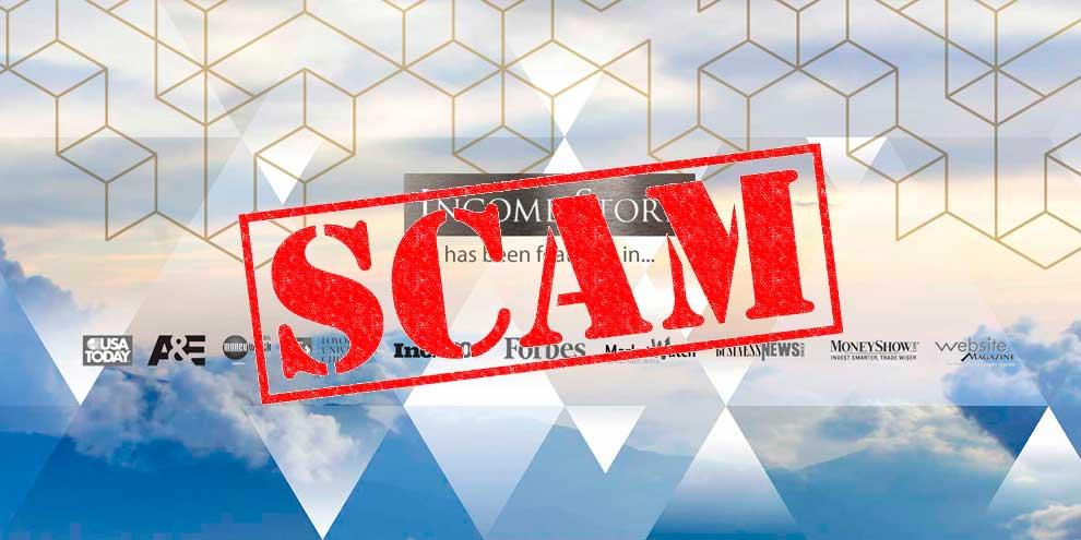 Income Store scam