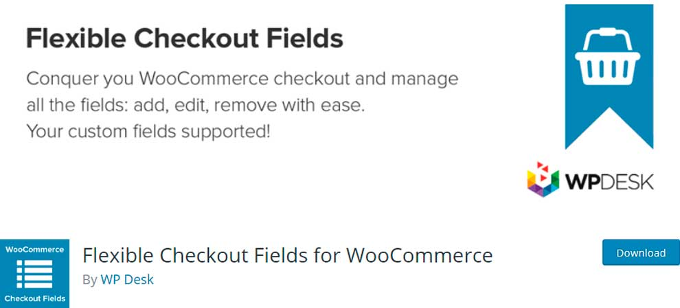 Flexible Checkout Fields for WooCommerce