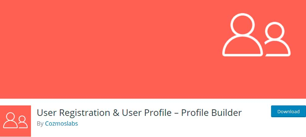 User Registration & User Profile – Profile Builder