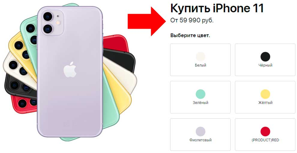 Трюки с ценами от Эппл