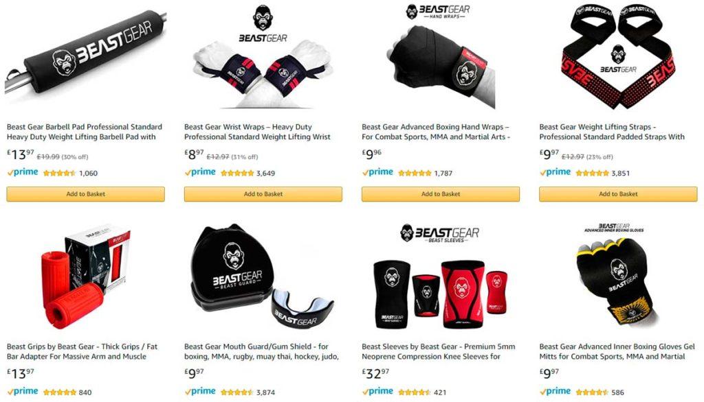 Популярные товары на Amazon
