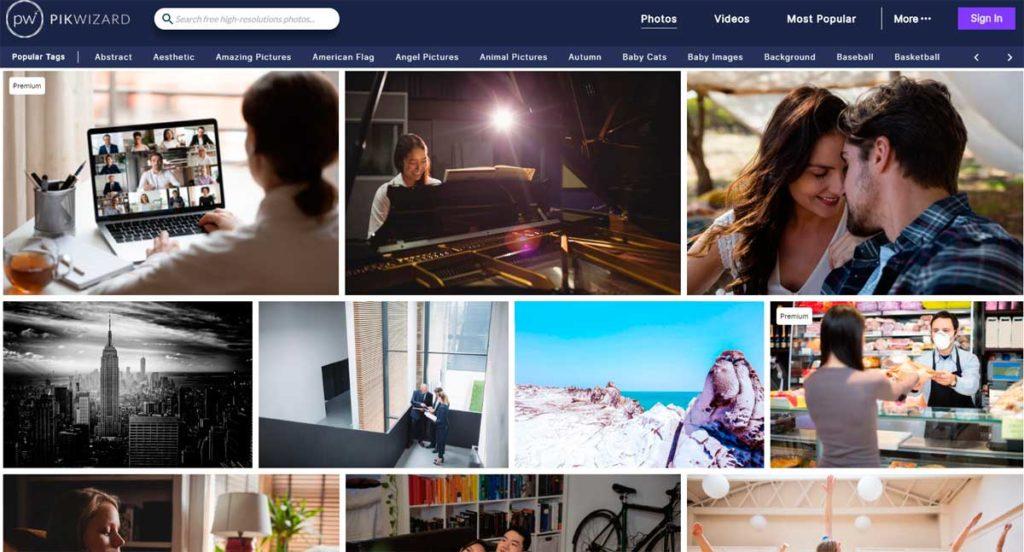 Сайт, на котором вы можете скачать бесплатные фотографии людей