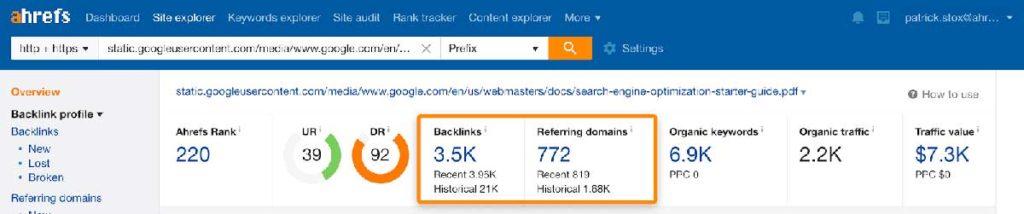 поисковая оптимизация пдф - 3.5 тысячи ссылок