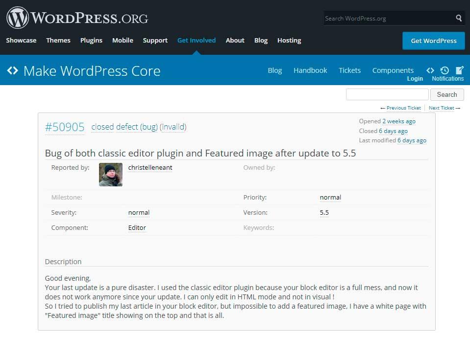 Что вызывает ошибки JavaScript в WordPress 5.5