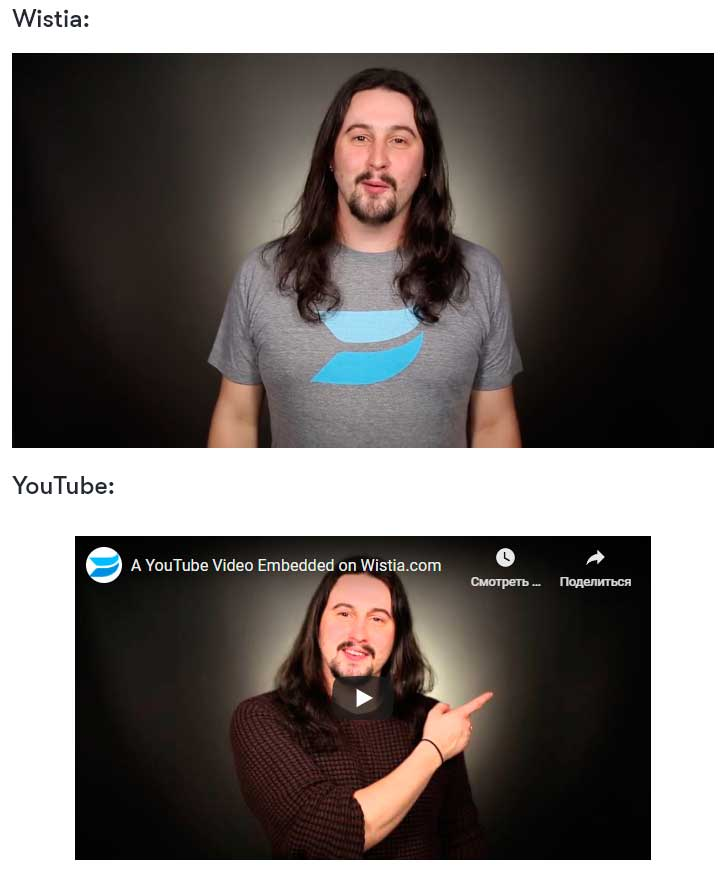 Wistia vs. YouTube