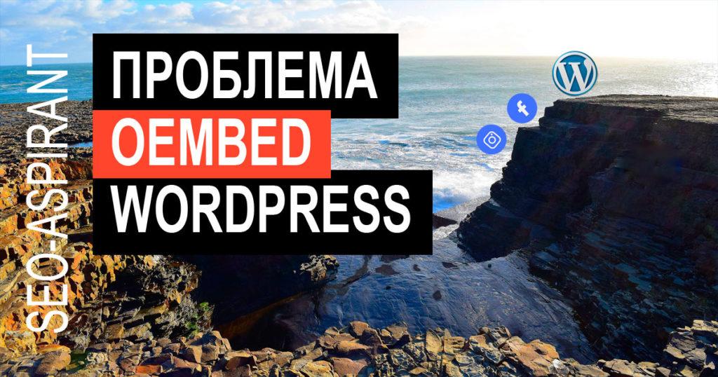 Как исправить ошибку oEmbed Facebook и Instagram в WordPress