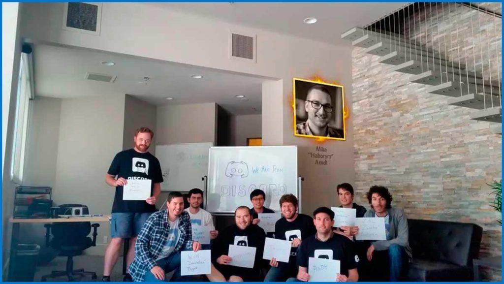 Первая команда разработчиков Дискорд