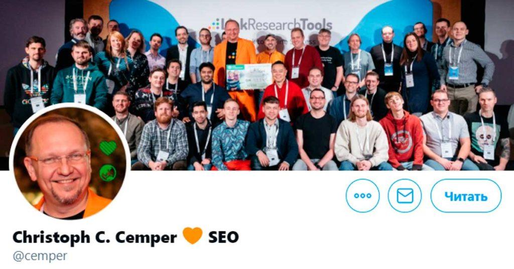 Кристоф Кемпер @cemper про декабрьское обновление алгоритма Гугл