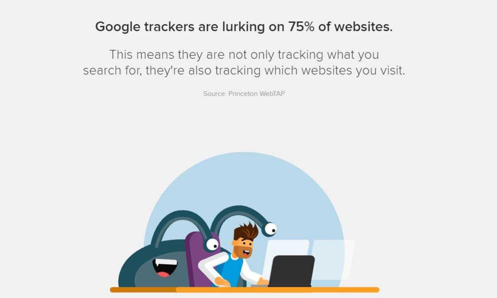 Как Google следит за пользователями поиска