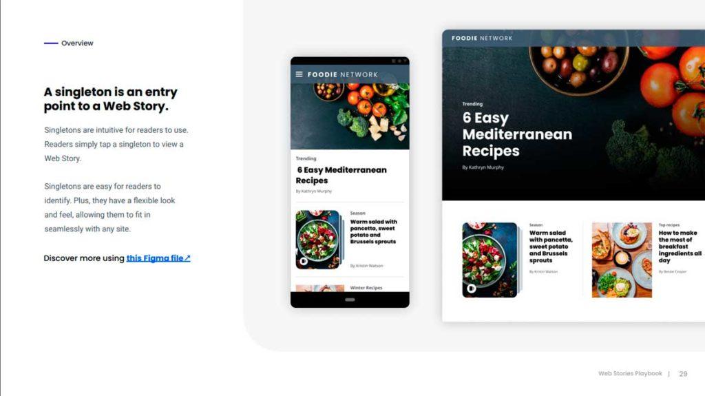 Внедрение веб-историй от Гугл в сайт