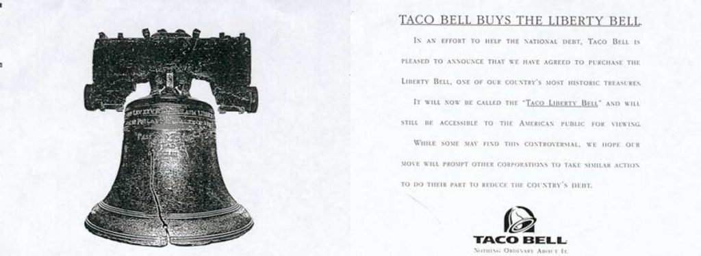 Партизанский маркетинг Taco Bell